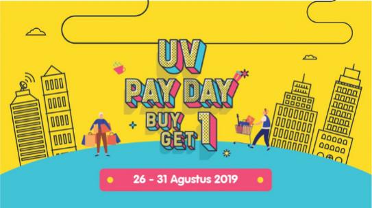Yeay Payday #Ultranian 26 Agustus – 31 Agustus 2019!