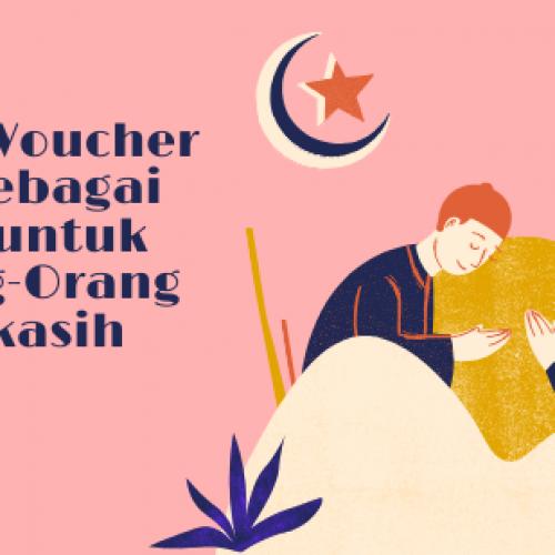 Share Voucher Mu Sebagai THR untuk Orang-Orang Terkasih